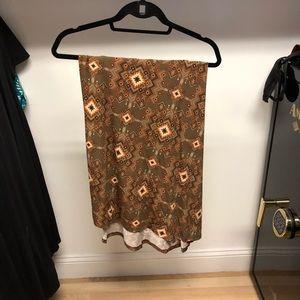 LuLaRoe maxi skirt S